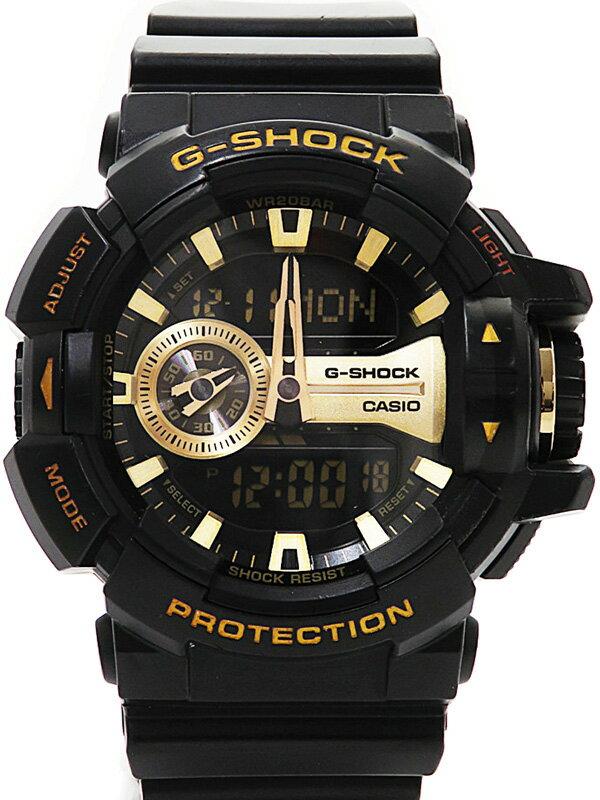 【CASIO】【G-SHOCK】カシオ『Gショック』GA-400GB-1A9JF メンズ クォーツ 1週間保証【中古】