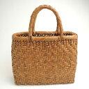 やまぶどうバッグ 小 27cm×21cm 22番 山ぶどうバッグ 山葡萄 やまぶどう カゴ かごバッグ かばん 籠