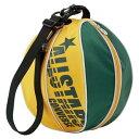 持ち運びにも便利なボールバッグ♪CONVERSE/コンバース 8Sボールケース(1コ入れ)C1510097-4853グリーン/イエロー