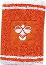 個性派リストバンド♪hummel/ヒュンメル リストバンドHFA9006-35オレンジ