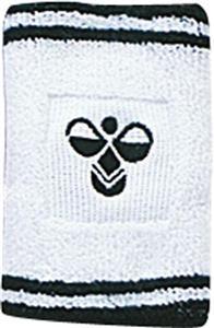 個性派リストバンド♪hummel/ヒュンメル リストバンドHFA9006-109ホワイト×ブラック