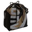 持ち運びにも便利なボールバッグ♪CONVERSE/コンバース 8Fボールケース(1コ入れ)C1057098-1982ブラック/ゴールド