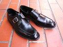 紳士靴の老舗ブランドが贈る定番スタイル!KENFORD/ケンフォード 紳士靴 ブラック Uチップ スクエアトゥ モンクストラップ フォーマル ビジネス