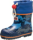 雨や雪の日も安心!子供用長靴♪アサヒ/asahi ペポ R301UL ネイビーガラ KL65086