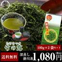 お茶/日本茶/深蒸し茶/【送料無料】静岡県掛川産 深蒸し茶 竹の露100g×2袋セット