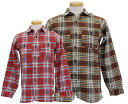 WAREHOUSE ウエアハウス 長袖シャツ 【DUCKDIGGER】 Double Weight Cloth Flannel shirts
