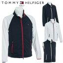 トミーヒルフィガー ゴルフ 2WAY ウィンド ジャケット メンズ 撥水 ストレッチ 長袖 TOMMY HILFIGER GOLF 【THMA801】【あす楽対応】【18SS】【smtb-f】