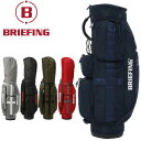 ブリーフィング ゴルフ キャディバッグ メンズ レディース 8.5型 5分割 約2.9kg 軽量 BRG191D05 CR-6