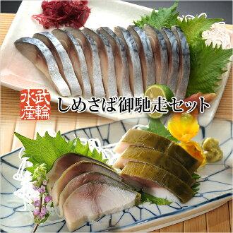 Shimesaba 治療組 — — 罕見的超大 shimesaba 並關閉銀鯖魚使用 shimesaba 海帶 8 泊江擰緊集-