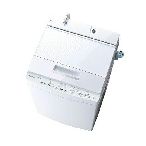 基本設置無料 東京23区近郊限定配送 東芝 7kg 全自動洗濯機 AW-7D7(W) グランホワイト TOSHIBA AW7D7|ZABOON ザブーン 7キロ インバーター 自動槽洗浄
