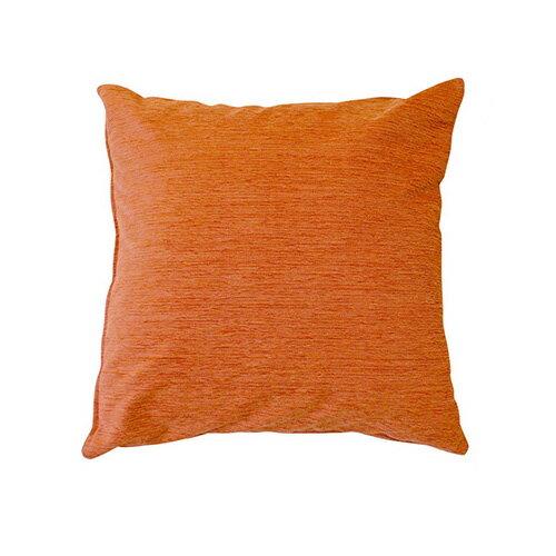 【レターパックライト発送】小栗 メリーナイト ディア クッションカバー 45×45cm 無地 オレンジ