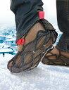 ショッピングNIKE 【欧州で大人気!】シューズ用滑り止めEzyShoes(イージーシューズ・ウォーク)スパイクなしでも滑らないタイヤチェーンをシューズ用に改良した商品スニーカー 革靴 長靴等Nike AirMax95 8.5(26.5cm)にLサイズを装着