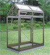 アルミ製 ガラス温室チャッピーA1型 0.5坪【smtb-ms】