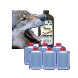 【いのしし対策に】ウルフピー WolfPee 340g 容器6個付[獣対策 狼の尿 瀧商店]【あす楽九州中...
