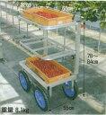アルミ製 いちご収穫用ワゴン 愛菜号 SW-312【smtb-ms】