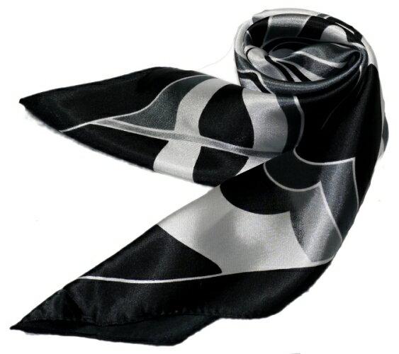 かわいいシルク調スカーフ 中判 60cm正方形...の紹介画像2