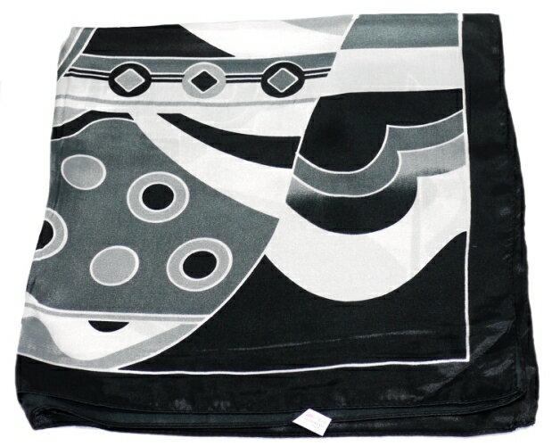 かわいいシルク調スカーフ 中判 60cm正方形ス...の商品画像