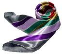 ショッピング正方形 かわいいシルク調スカーフ 中判 60cm正方形スカーフリボン 事務服 企業制服スカーフ 鮮やかで顔まわり華やかUP 手首に、デニムに、バッグに、無限に使える人気柄スカーフ激安