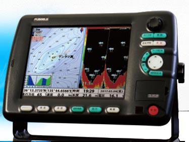 FUSO 10.4型GPS&デジタル魚探 FE-10F-HG(1kw高精細仕様)newpec地図搭載