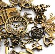 不思議の国 アリス 【第二弾】33個セット アクセサリーチャーム アンティークゴールド 金古美 素材 材料