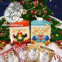 プレゼント「スノーBOXとサンタBOX」たまごボーロ プチギフト クリスマス お菓子 スノーマン プチギフト 詰め合わせ