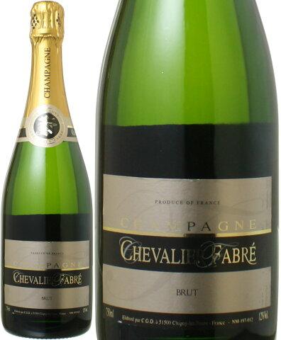 【送料無料】シュヴァリエ・ファヴレ ブリュット NV 750ml <ワイン/シャンパン>※送料無料のまま、ワイン合計12本まで一緒に送れます。【沖縄・離島は別料金加算】