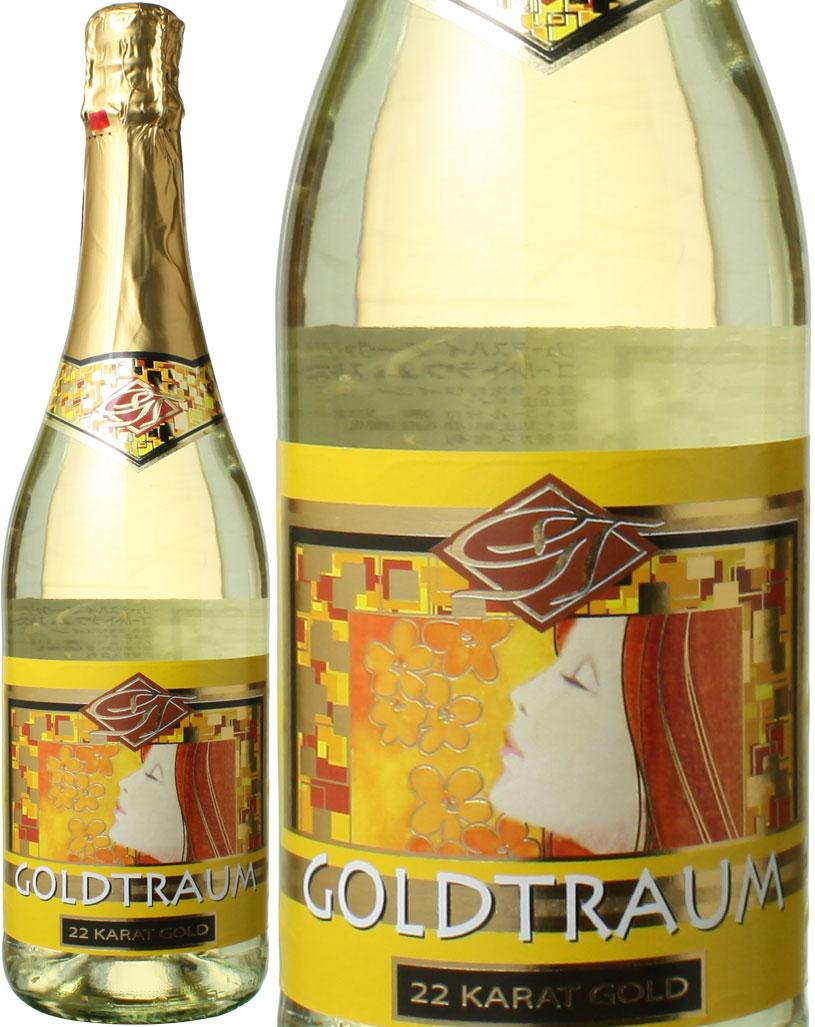 ゴールドトラウム スパークリング・ホワイト 金箔入り NV <白> <ワイン/スパークリング>