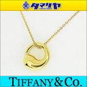 TIFFANY&Co. ティファニー エターナルサークル ペンダント ネックレス K18 750 YG イエロ
