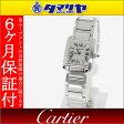 Cartier カルティエ タンクフランセーズ SM クォーツ 時計 750 K18 WG ホワイトゴールド Ref.W50012S3 SWISS MADE【送料無料】【代引き手数料無料】時計 レディース【中古】28530716