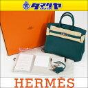 HERMES エルメス Birkin25 バーキン25 マラカイト Malachite Z6 グリーン エプソン epsom □R刻印 2014年製造 シルバー...