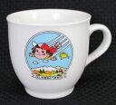 ペコちゃんマグカップ型プリンカップもしも空をとべたなら【未使用】