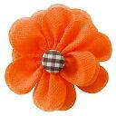 フラワーリボン オレンジ