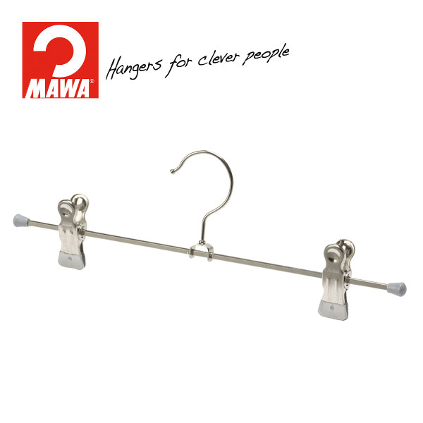 MAWAハンガー(マワハンガー)クリップハンガー K30D シルバー 10本セット