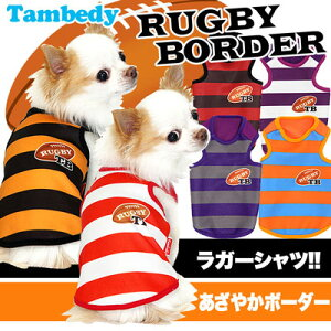 タムベディ ラグビー ボーダー ドッグウェア アウトレット パジャマ