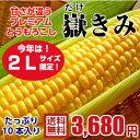 【送料無料】青森県産 嶽きみ 恵味(めぐみ)・2Lサイズ限定...