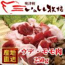 奥津軽 いのしし肉 ウデ モモ肉 250g【SS】| 青森 ...