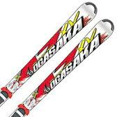 【選べるキャンペーン!】OGASAKA〔オガサカ スキー板〕<2015>AZ 〔エーゼット〕 AZ-15/WT + チロリア SLR 10 〔RD/WT〕 【金具付き・取付料送料無料】〔z〕〔SA〕