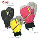 PHENIX 〔フェニックス スキーグローブ レディース〕<2015>Bright Tri-finger Gloves PA488GL55〔z〕〔SA〕