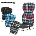 ★north peak 〔ノースピーク ジュニアスノースパッツ〕 JUNIOR SNOW SPAT NP-6602〔z〕