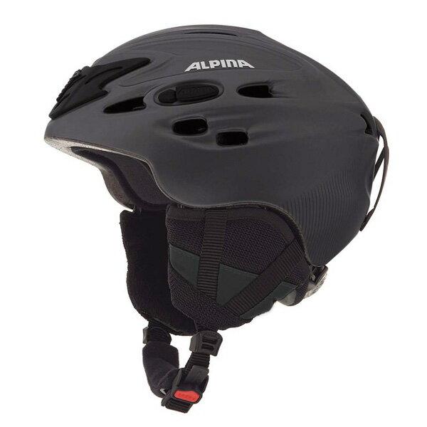 ALPINA〔アルピナ スキーヘルメット〕<2015>SCARA/ブラックシルクマット 〔z〕