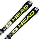 HEAD〔ヘッド スキー板〕<2016>WORLDCUP REBELS i.RACE + SFP 13 + LX12〔BK/YW〕 【金具付き・取付料送料無料】...