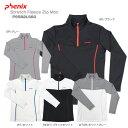 PHENIX〔フェニックス レディースアンダーシャツ〕<2016>Stretch Fleece Zip Moc PS582LS60〔z〕