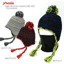 PHENIX 〔フェニックス ジュニアニット帽〕<2016>Eagle Boy's Ear. Beanie with NW PS5G8HW99〔z〕