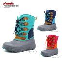 ★PHENIX 〔フェニックス ジュニアスノーブーツ〕<2017>Phenix Logo Junior Snow Boots PS5G8FW80〔z〕