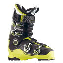★SALOMON〔サロモン スキーブーツ〕X PRO 110〔black/acide green/anthracite〕【送料無料】〔z〕