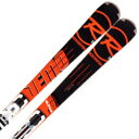 ★ROSSIGNOL〔ロシニョール スキー板〕DEMO ALPHA SOFT FLUID X〔デモアルファソフト〕+ SPX 12 FLUID B80 WHITE ICON【金具付き・取付料送料無料】〔z〕