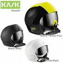 18-19 KASK〔カスク スキーヘルメット〕<2019>STEALTH〔ステルス〕 バイザー付き 〔HG〕