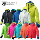 【18-19 NEWモデル】DESCENTE〔デサント スキーウェア ジャケット〕<2019>S.I.O JACKET 60/DWUMJK55【送料無料】 スキー スノーボード【MUJI】〔SA〕
