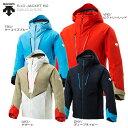 【エントリーで最大24倍!10/25限定】スキー ウェア DESCENTE デサント ジャケット 2020 S.I.O JACKET 60/DWUOJK53S MUJI 19-20 旧モデル