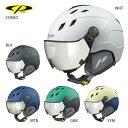 CP〔シーピー スキーヘルメット〕<2021>CORAO バイザー付き